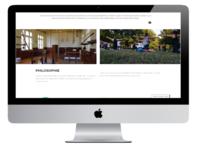Private Webseite