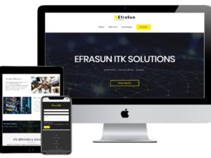 Referenz Webdesign Efrasun