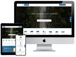 Referenz Webdesign Lkwfee