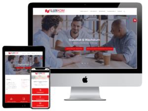 Referenz Webdesign LuxKom