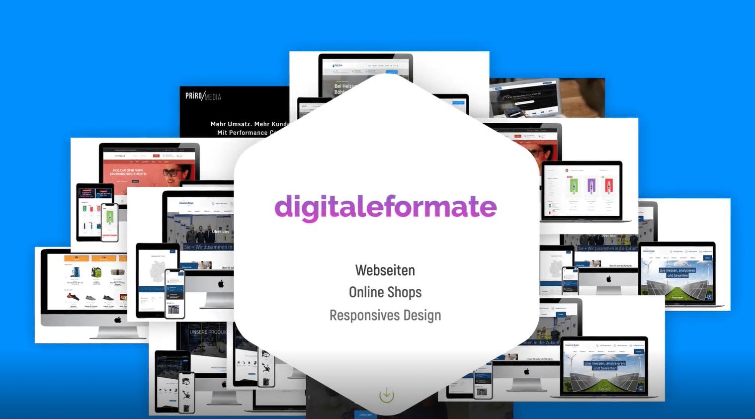 Vorschaubild Webdesign Video