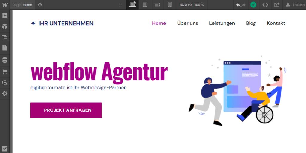 webflow Agentur Partner