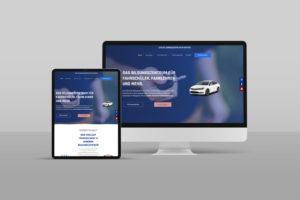 Fahrschule Webdesign Referenz