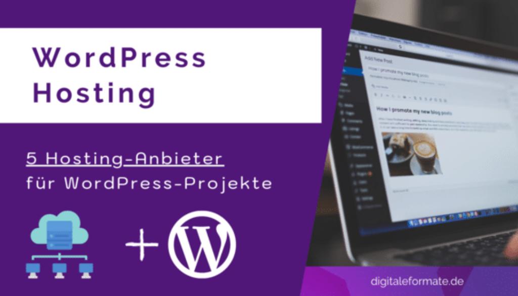 WordPress Hosting Anbieter Empfehlung