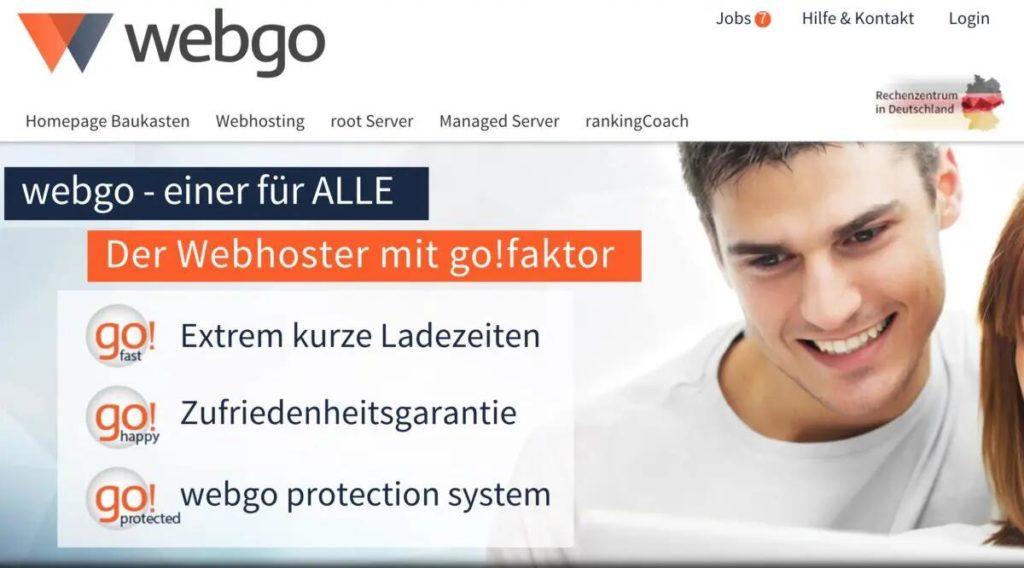Webgo Hosting Anbieter