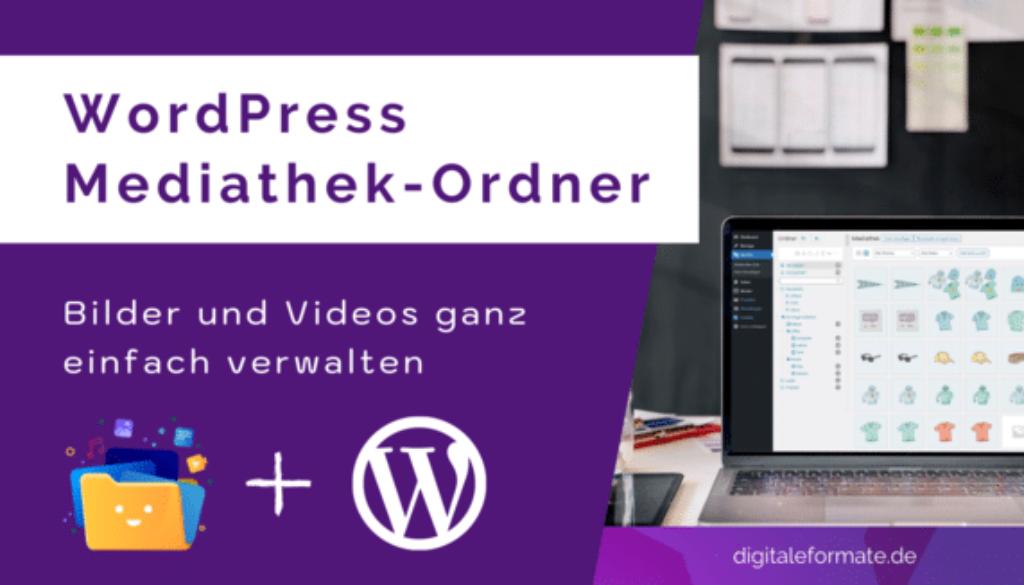 WordPress Mediathek Ordner