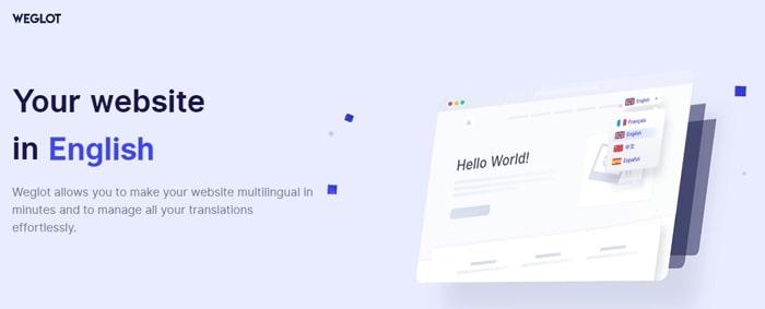 Weglot Übersetzung WordPress